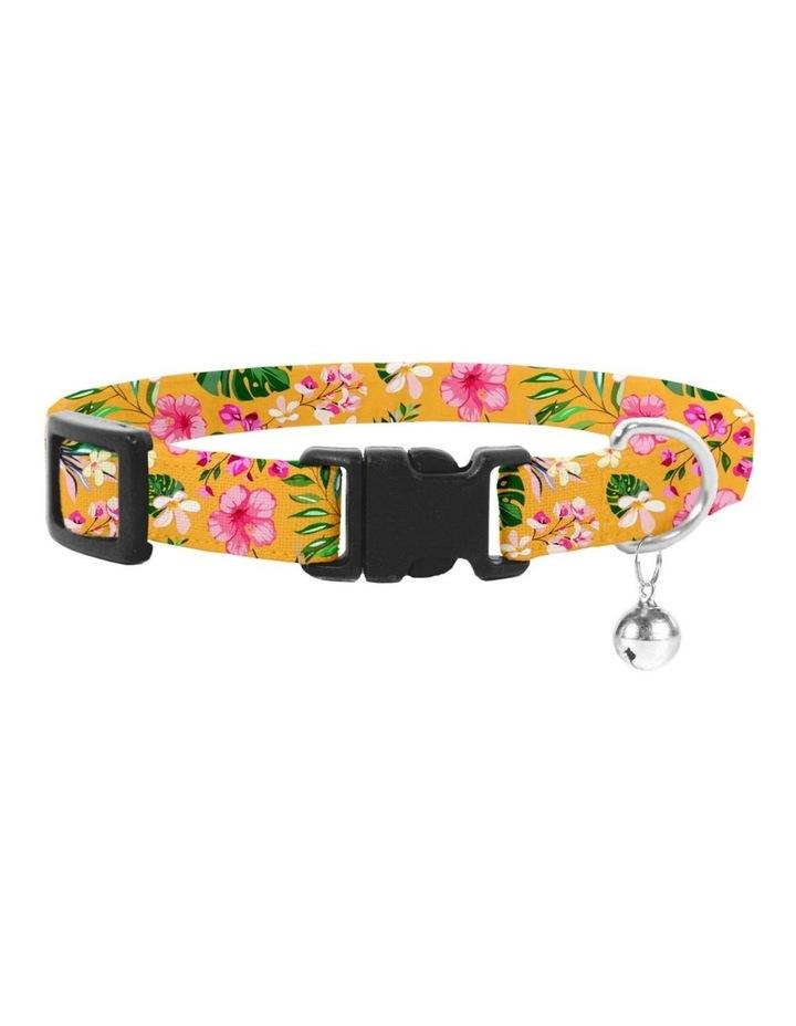 Coco & Pud Summer Sunrise Cat Safety Collar & Bowtie image 1