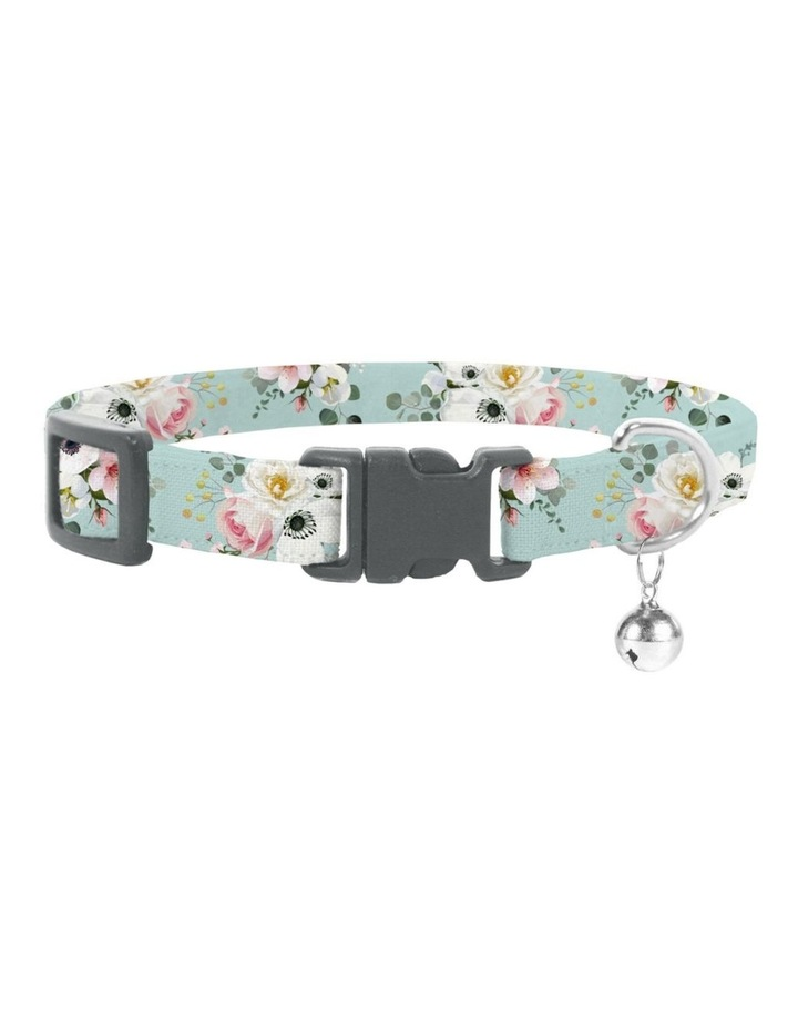 Coco & Pud French Azure Cat Safety Collar & Bowtie image 1
