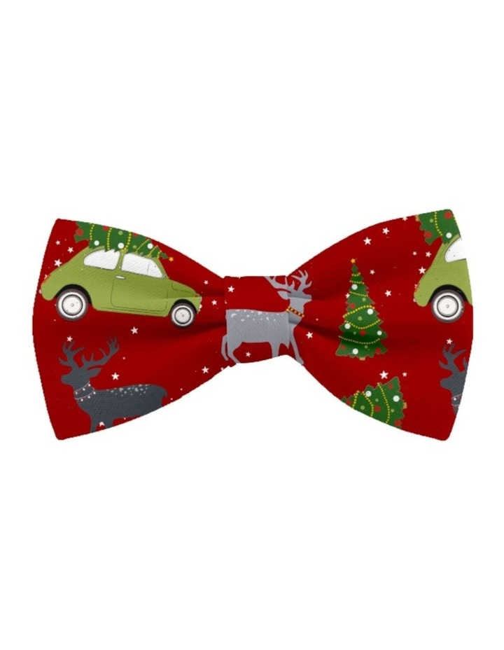 Coco & Pud Deck The Paws Christmas Dog Bow tie image 1