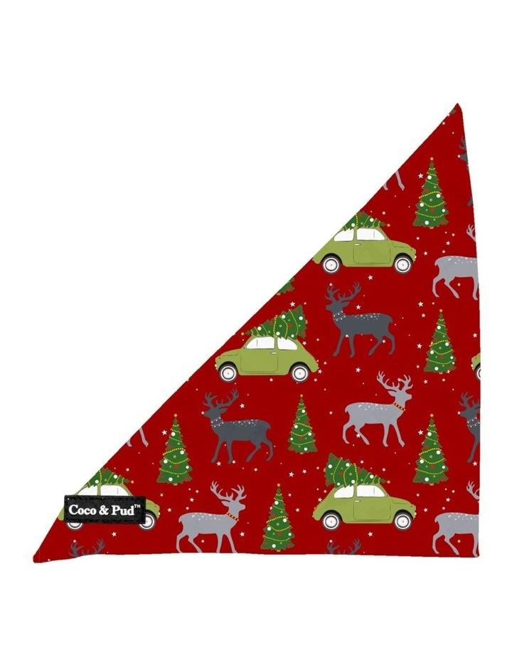 Coco & Pud Deck The Paws Christmas Dog Bandana image 1