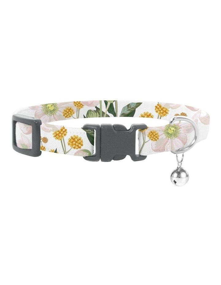 Windflower Cat Safety Collar & Bowtie image 1