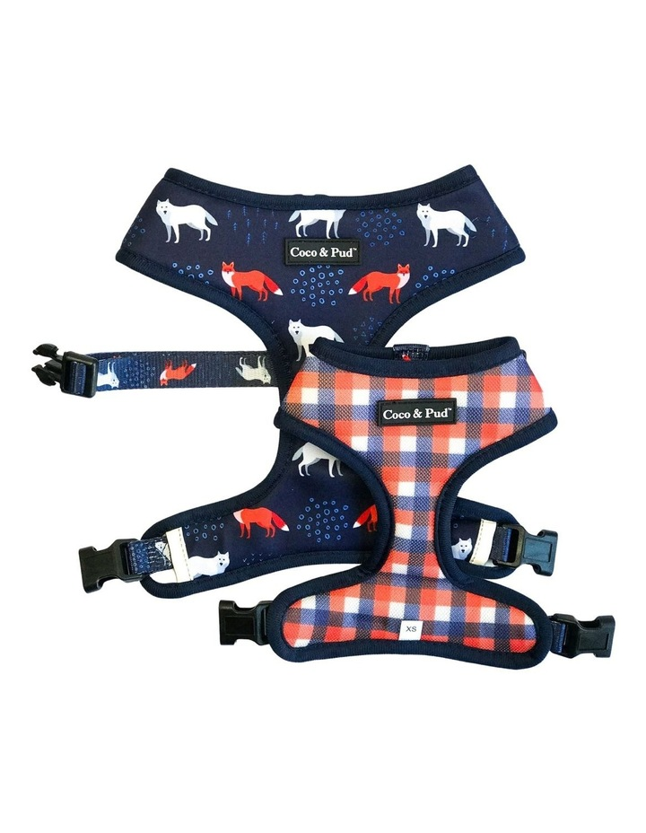 Fox & Friends Reversible Dog Harness image 1