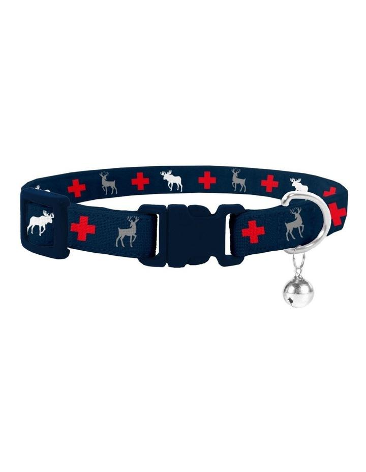 Adventure Cat Safety Collar & Bowtie image 1