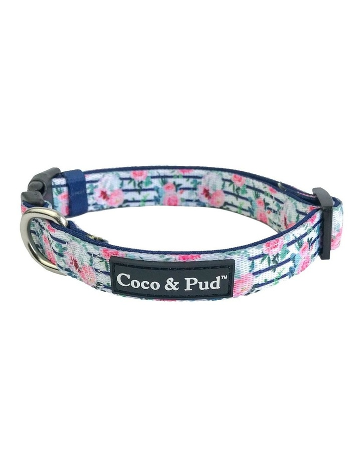 Floral Blooms Dog Collar & Bow Tie image 1