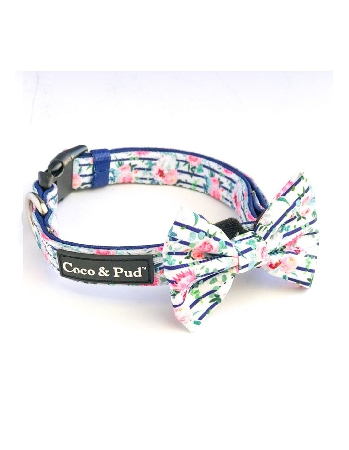 Floral Blooms Dog Collar & Bow Tie image 2