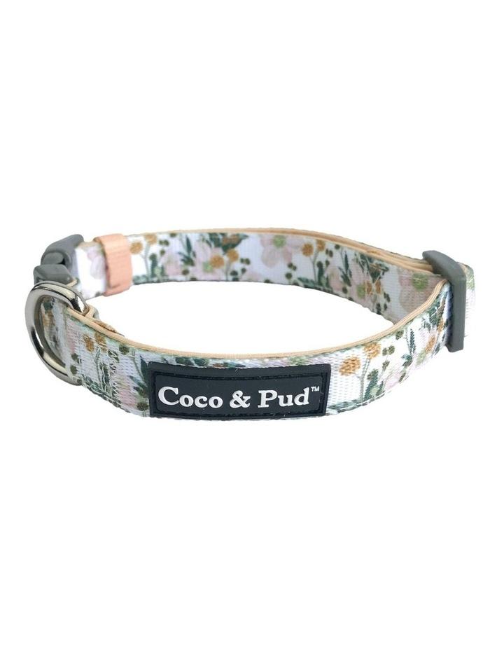 Windflower Dog Collar & Bow Tie image 1