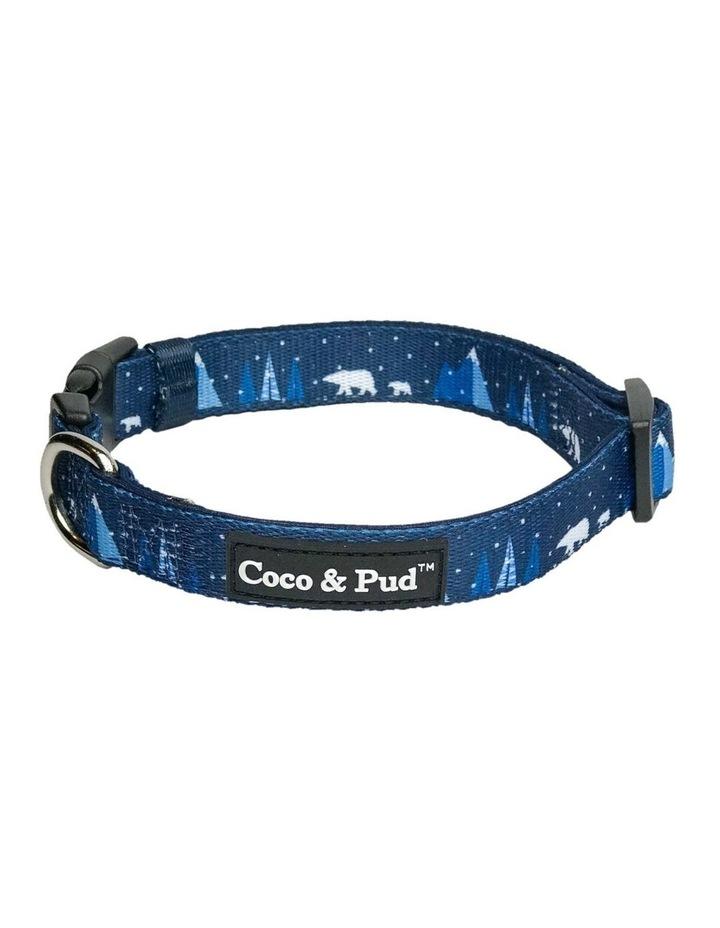Arctic Pup Dog Collar & Bow tie image 1