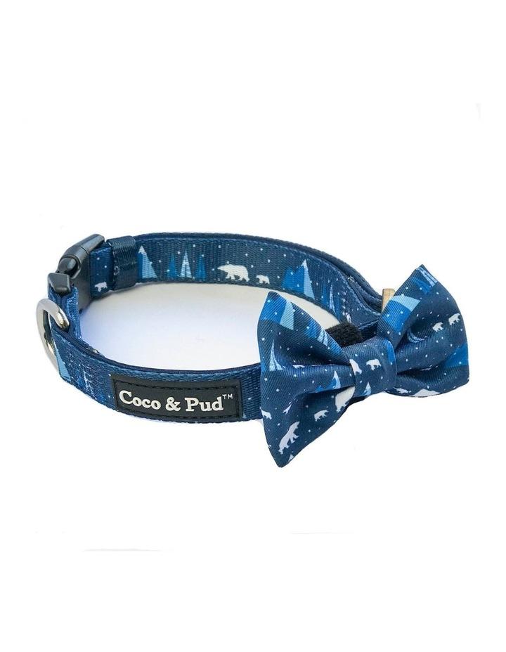 Arctic Pup Dog Collar & Bow tie image 2