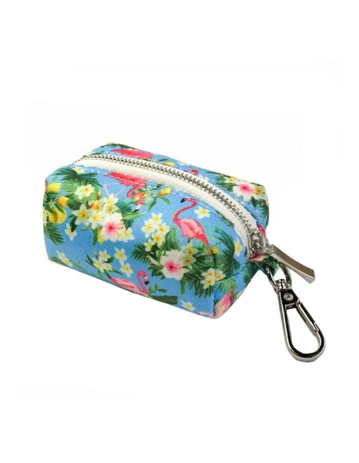 Flamingo Tropical Waste Bag Holder image 1