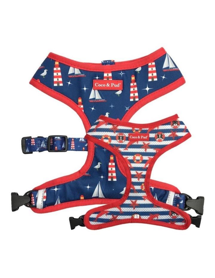 Hamptons Reversible Dog Harness image 1
