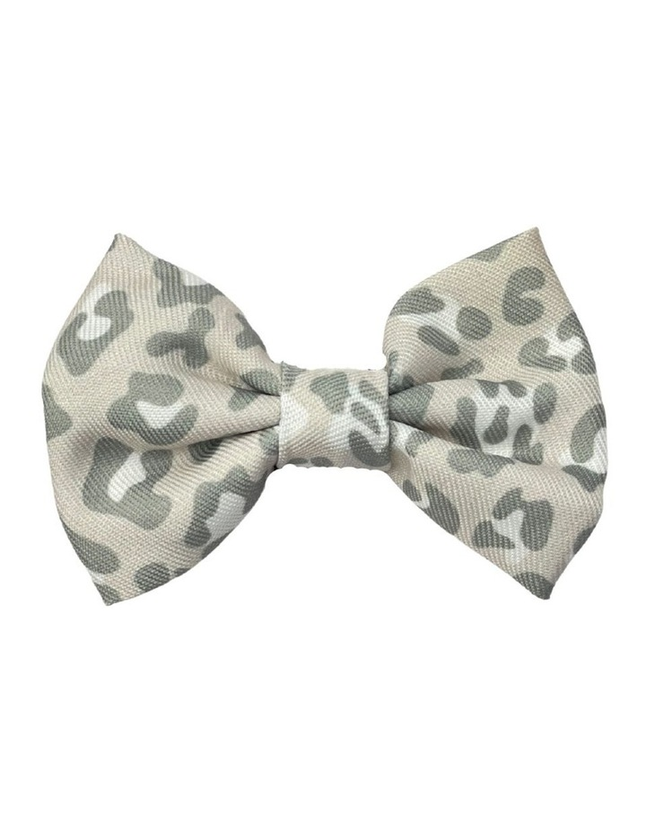 Amur Leopard Dog Bow tie image 1