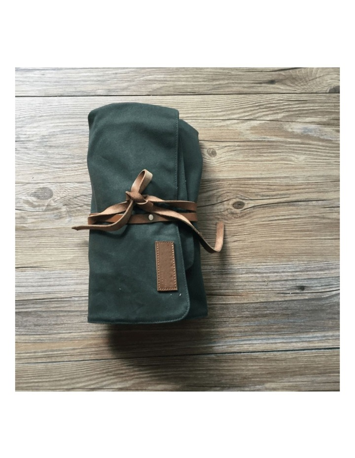Canvas Bartender Roll Up Bag (Without Tools) image 1