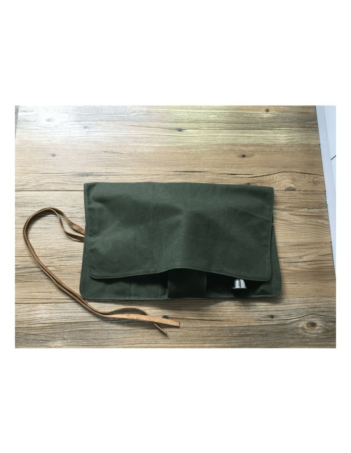 Canvas Bartender Roll Up Bag (Without Tools) image 2