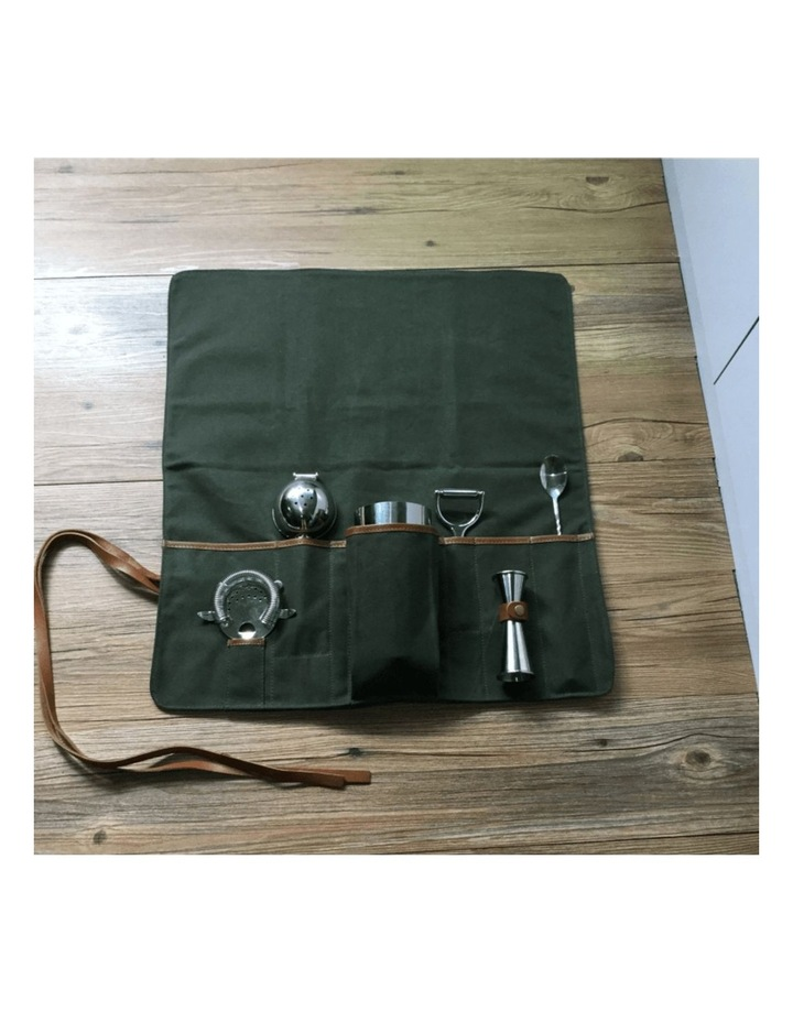 Canvas Bartender Roll Up Bag (Without Tools) image 3