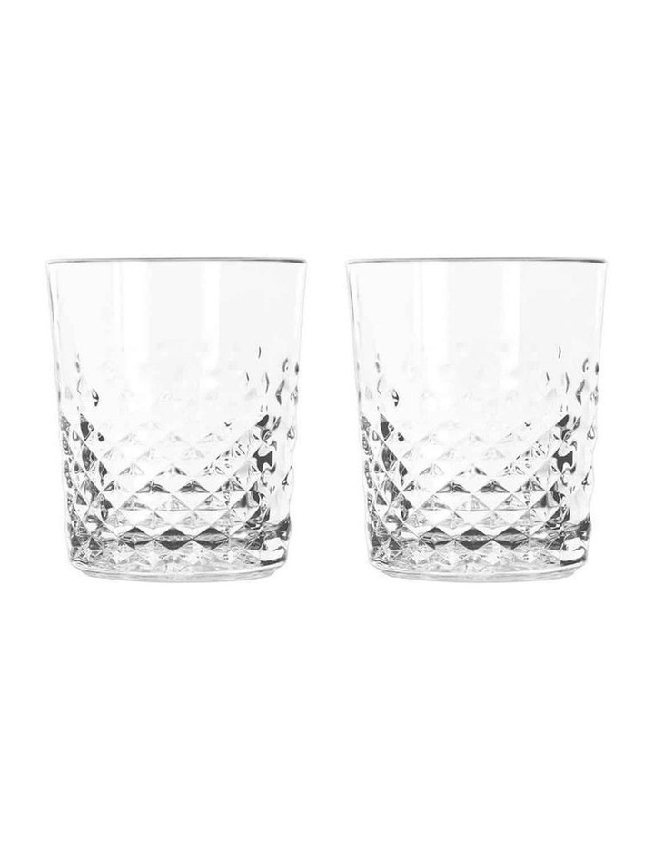 Libbey Carats Double Old Fashioned Glass - Set of 2 image 1