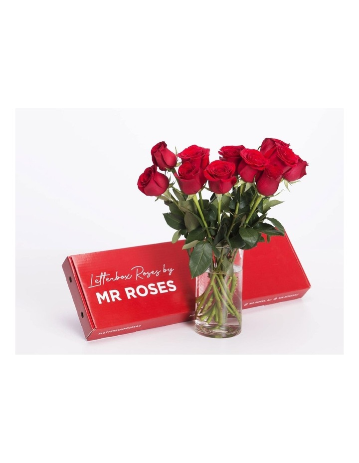 Red Roses Gift box 12 Classic stems image 2
