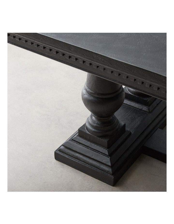 Genevieve Black Dining Table image 4