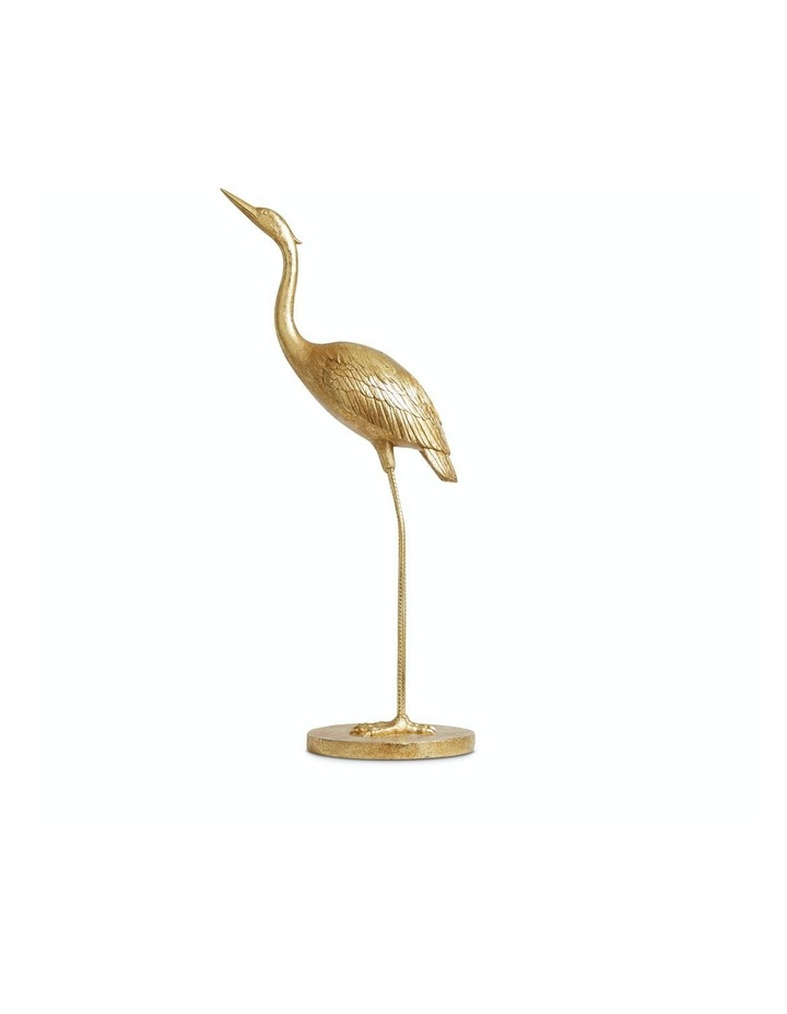 Gold Heron Decorative image 1