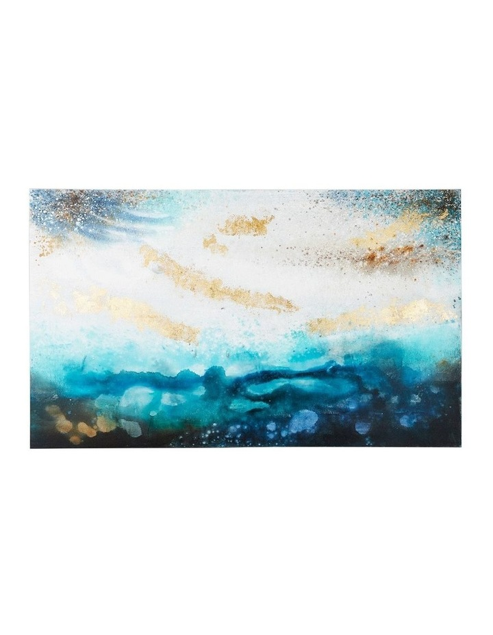 Blue Storm Oil Painting on Canvas image 1