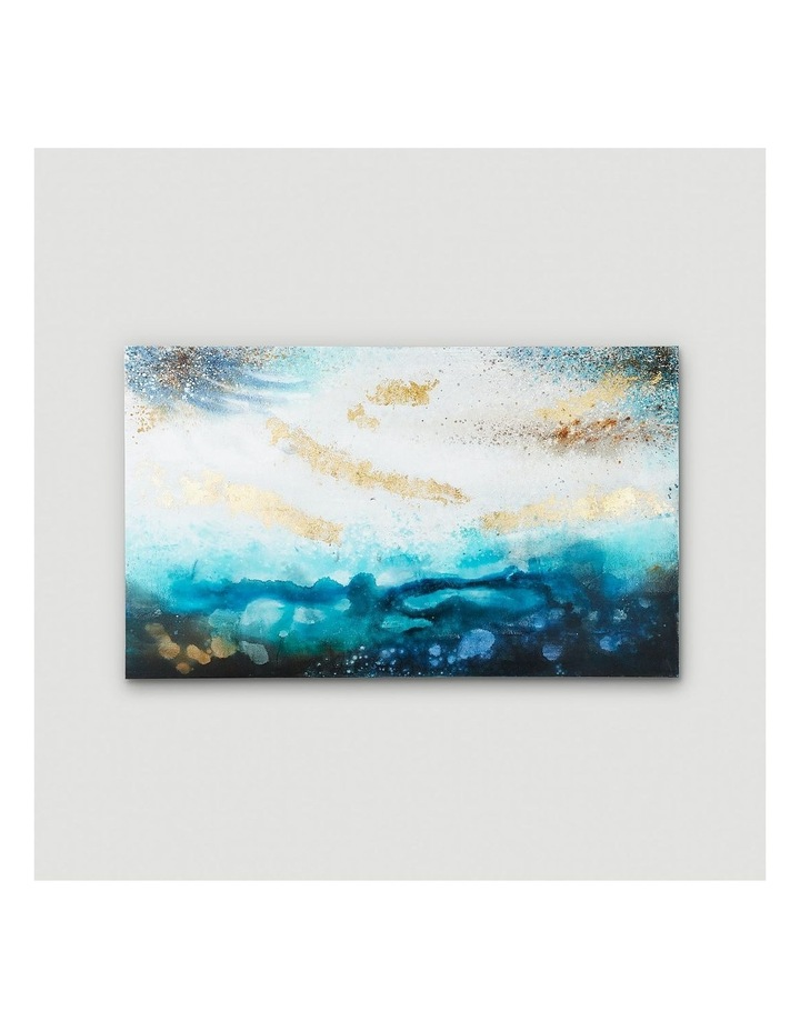 Blue Storm Oil Painting on Canvas image 2