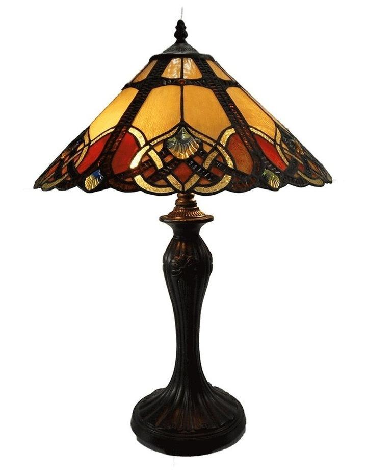 Sunset Large Tiffany Table Lamp image 1