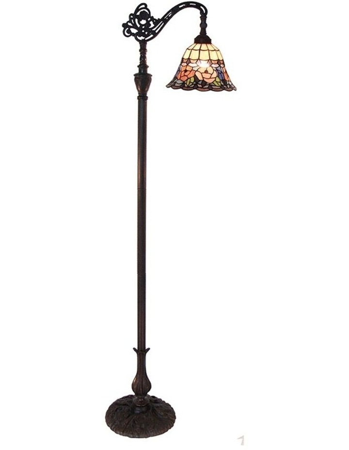 Chandell Edwardian Tiffany Floor Lamp image 1