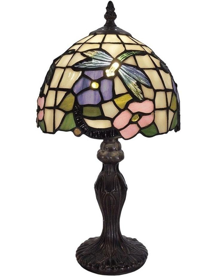 Crystal Dragonfly Tiffany Table Lamp image 1