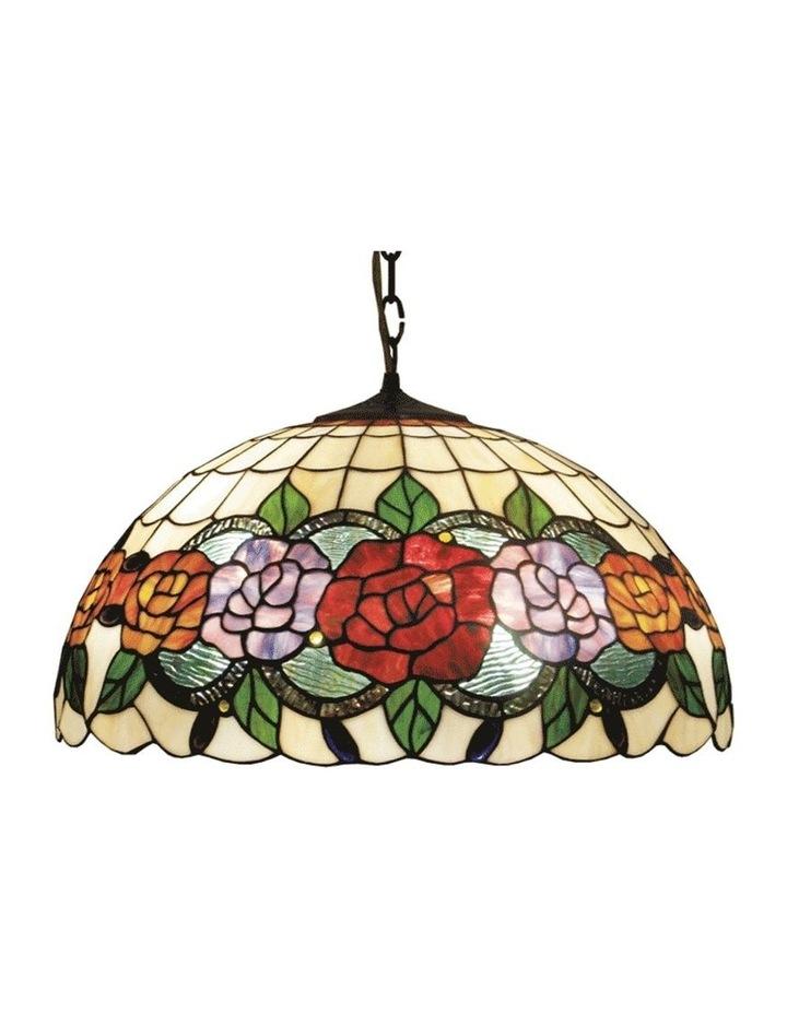 Red Rose Hanging Lamp image 1