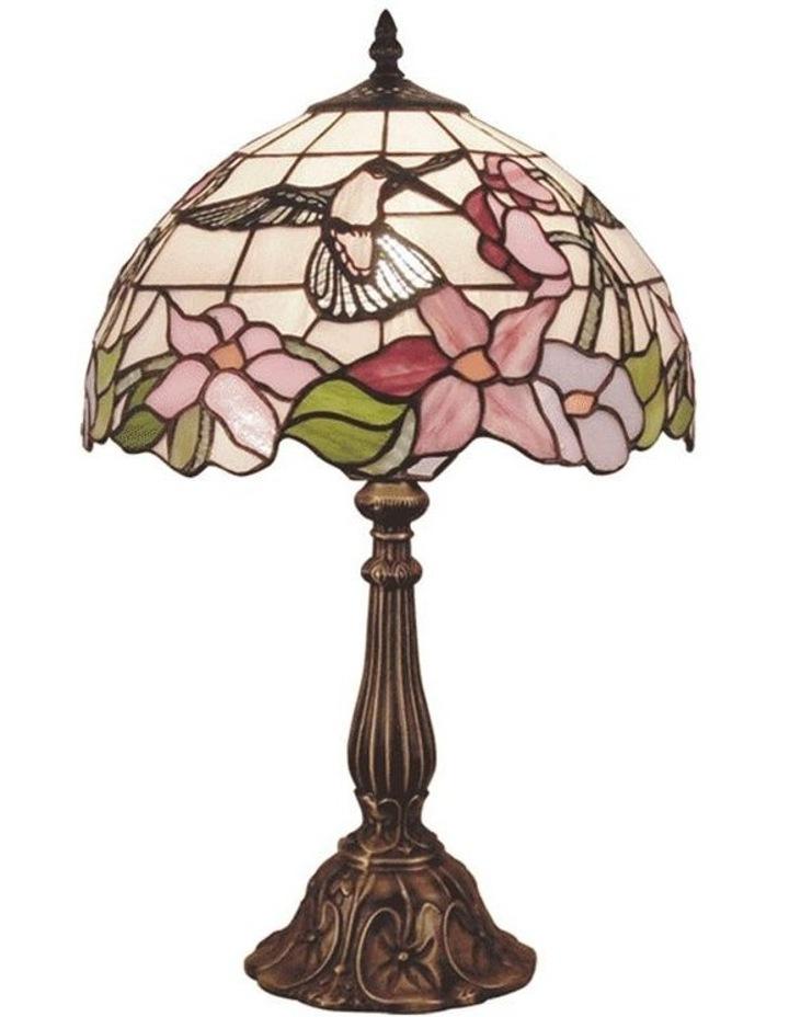 Hummingbird Leadlight Tiffany Table Lamp image 1