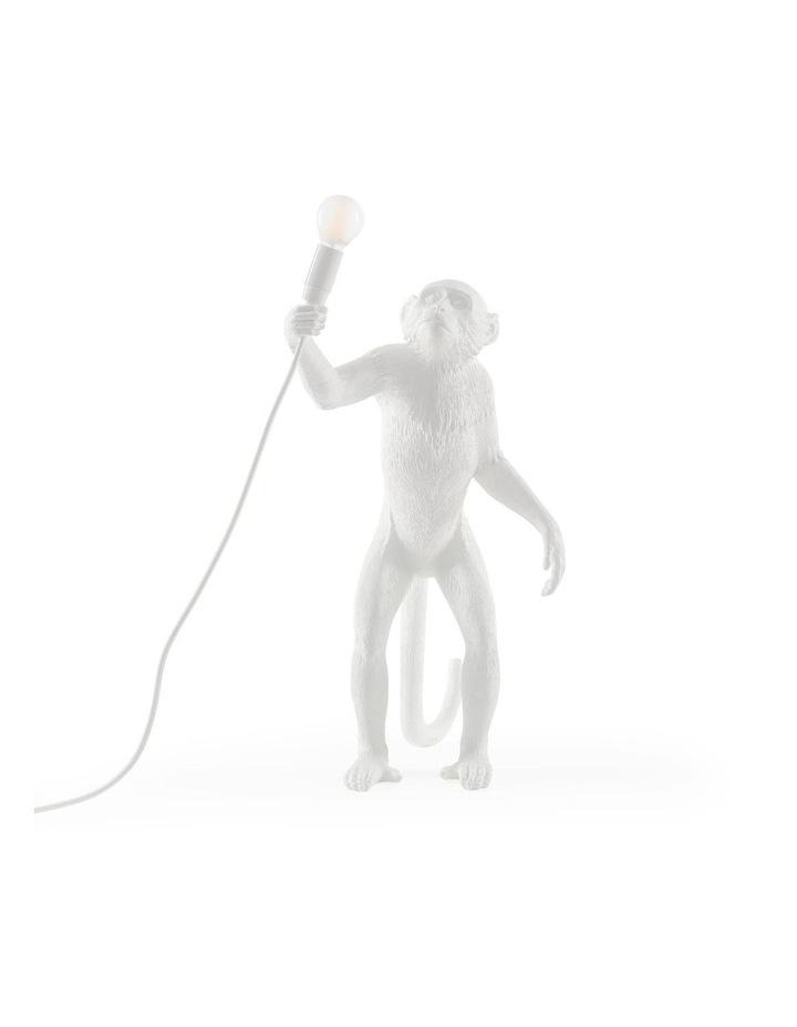 Seletti Standing Monkey Lamp - White image 1
