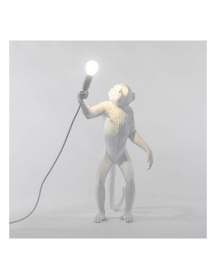 Seletti Standing Monkey Lamp - White image 2