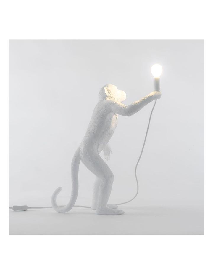 Seletti Standing Monkey Lamp - White image 3