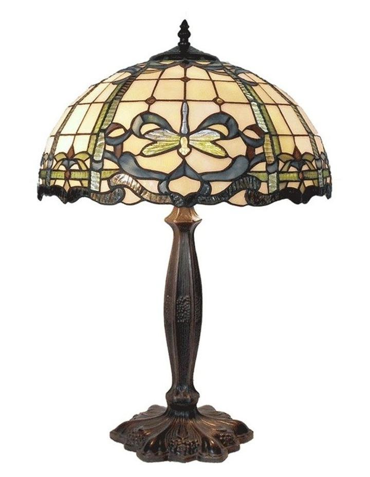 Aurora Tiffany Table Lamp Large image 1