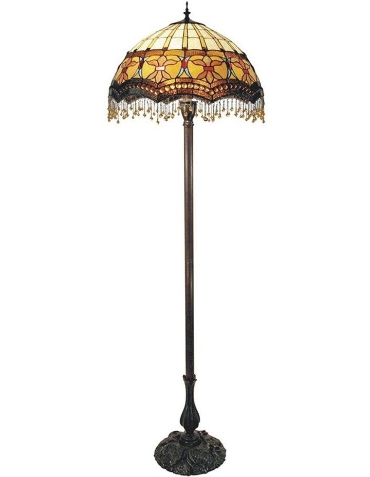 Madonna Beaded Leadlight Tiffany Floor Lamp image 1