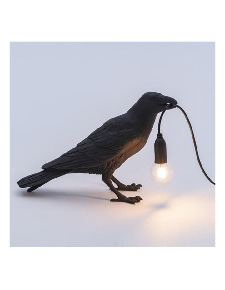 Bird Lamp Standing - Black image 3