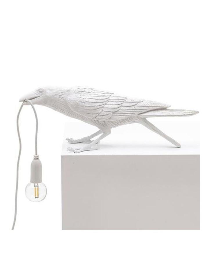 Bird Lamp Playing - White image 2