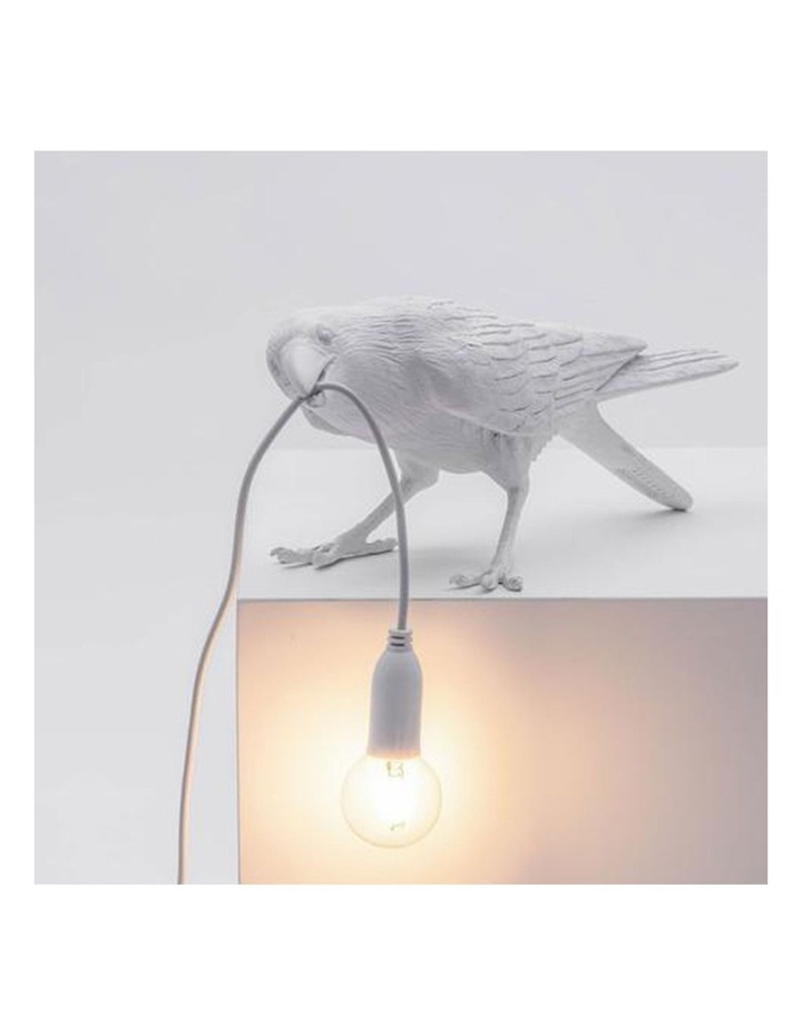 Bird Lamp Playing - White image 3