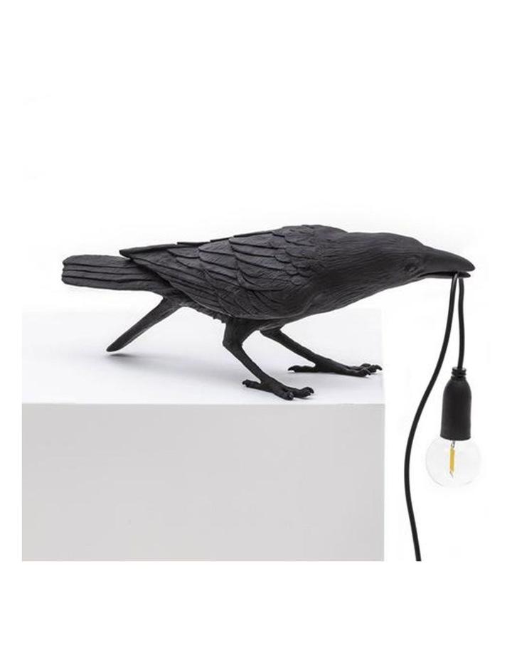 Bird Lamp Playing - Black image 2