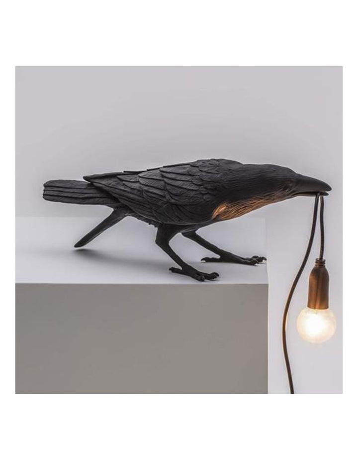 Bird Lamp Playing - Black image 3