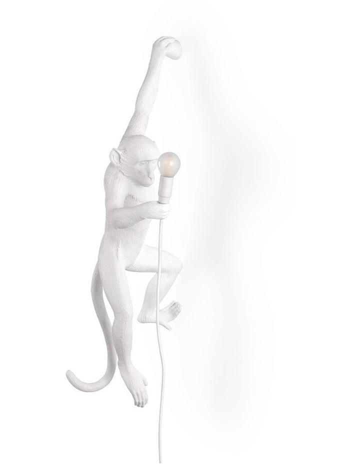 Seletti Wall Hanging Monkey Light White | Lefty image 1