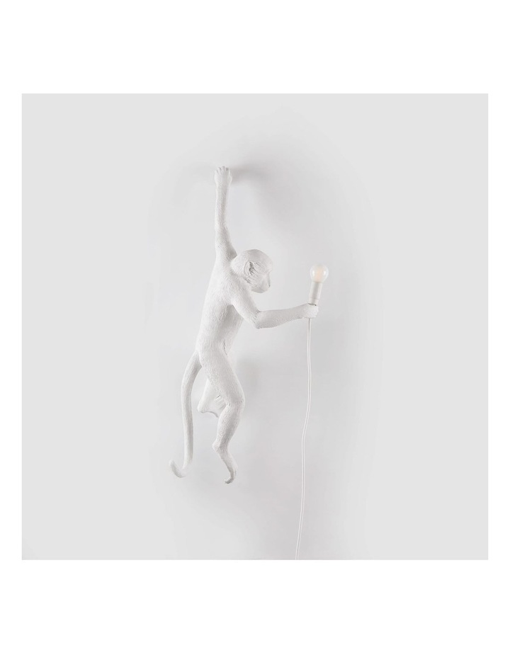 Seletti Wall Hanging Monkey Light White | Lefty image 3