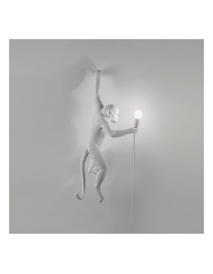 Seletti Wall Hanging Monkey Light White | Lefty image 4