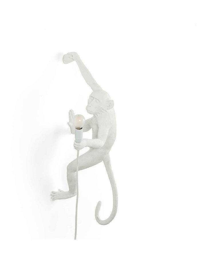 Seletti Wall Hanging Monkey Light White | Righty image 1