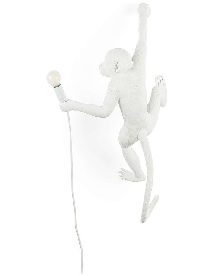 Seletti Wall Hanging Monkey Light White | Righty image 3