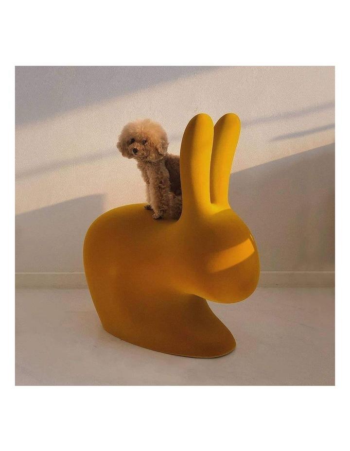 Chair Velvet Finish - Dark Gold image 2