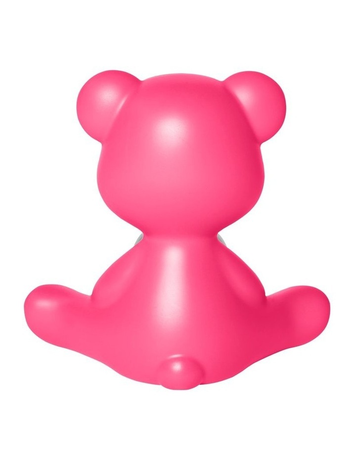 Teddy Girl Lamp with Rechargeable LED - Fuchsia image 4