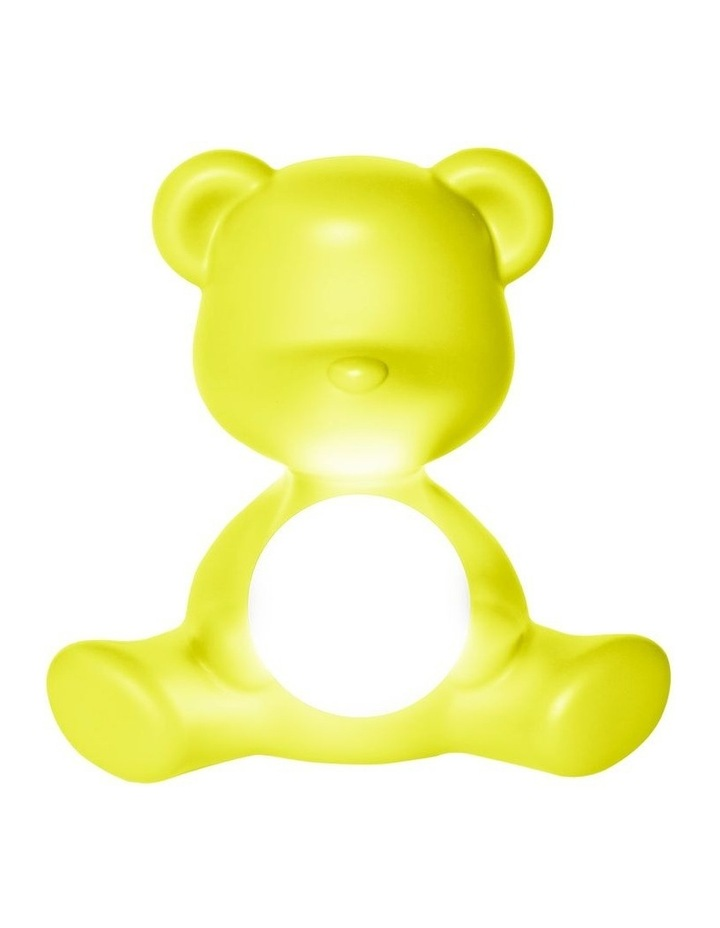Teddy Girl Lamp with Rechargeable LED - Lime image 1
