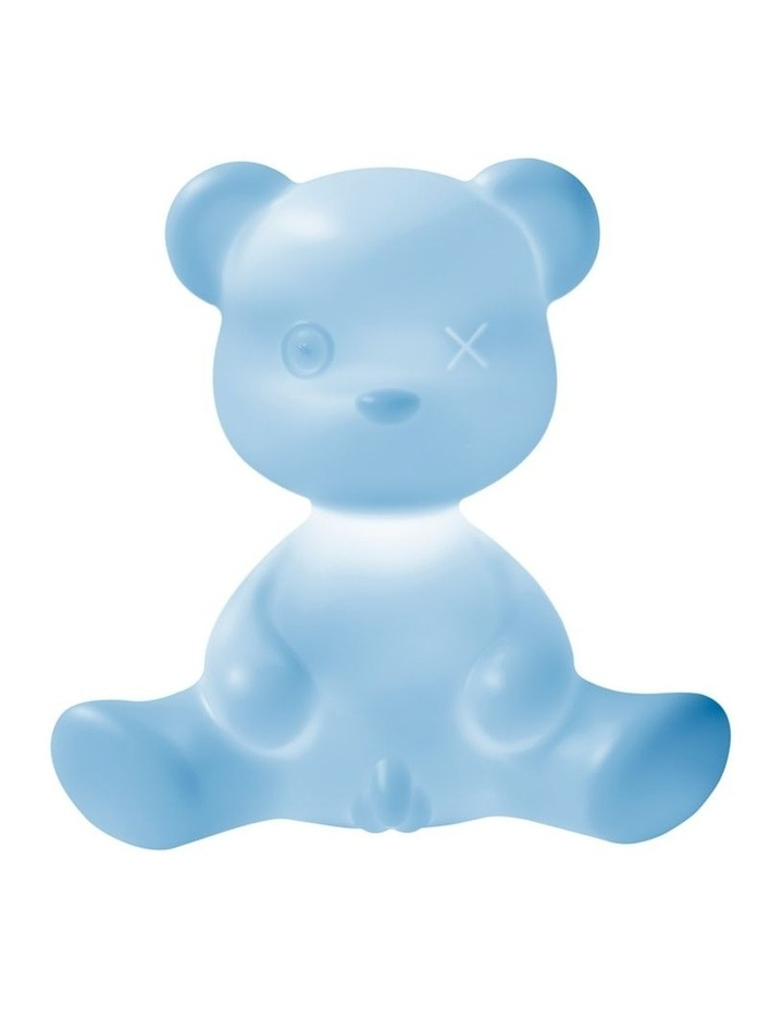 Teddy Boy Lamp with Cable - Light Blue image 1