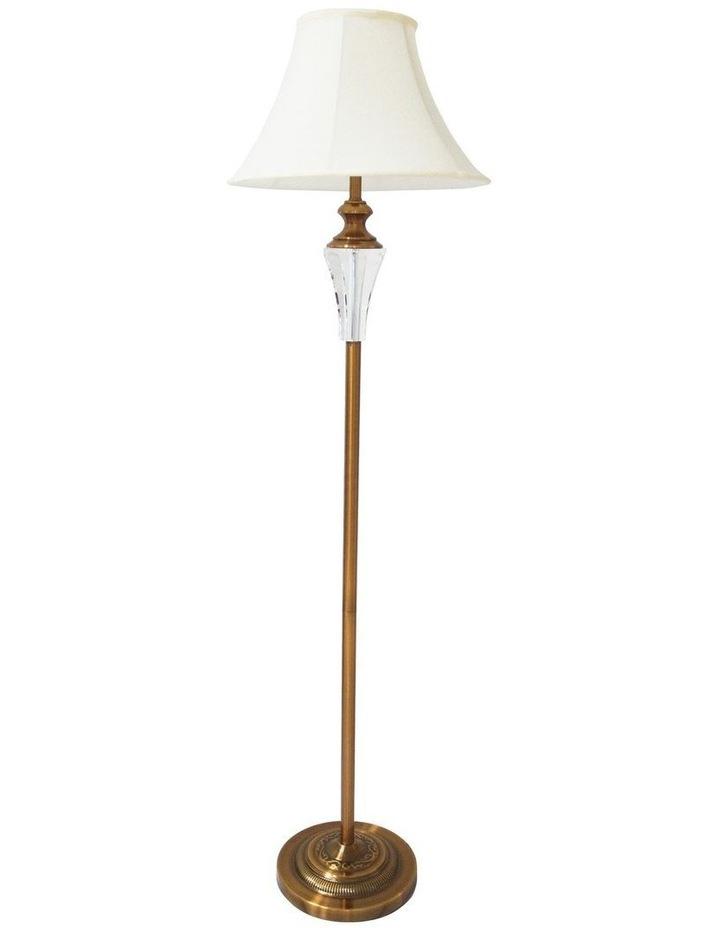 Vienna Crystal Brass Floor Lamp image 2