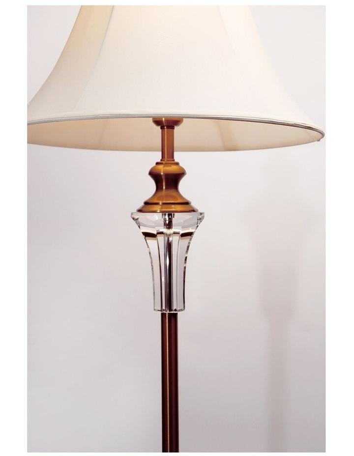 Vienna Crystal Brass Floor Lamp image 3